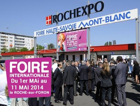 Douches meyer fils rochexpo du 1er au 11 mai 2014 annecy for Foire la roche sur foron 2017